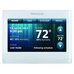 Honeywell Vision Pro Colour Thermostat