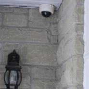 Dome Camera at Front Entrance